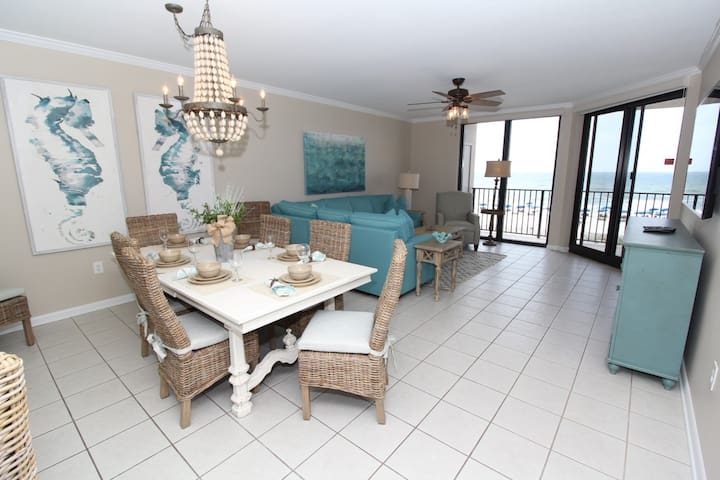 Phoenix X 313- Gulf Front View, Large Terrace, Private Beach Access!