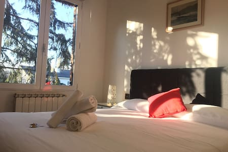 ¡Double bed room free wifi +parking! Nº3 - Donostia - เกสต์เฮาส์