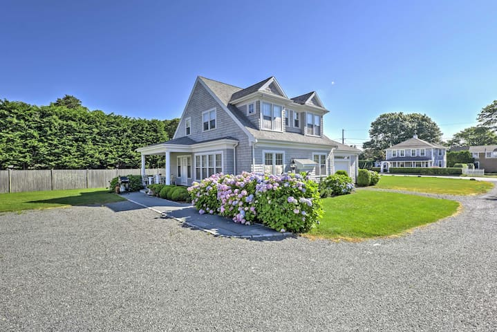 NEW! 3BR Hyannis Port House - 2 Blocks from Beach!