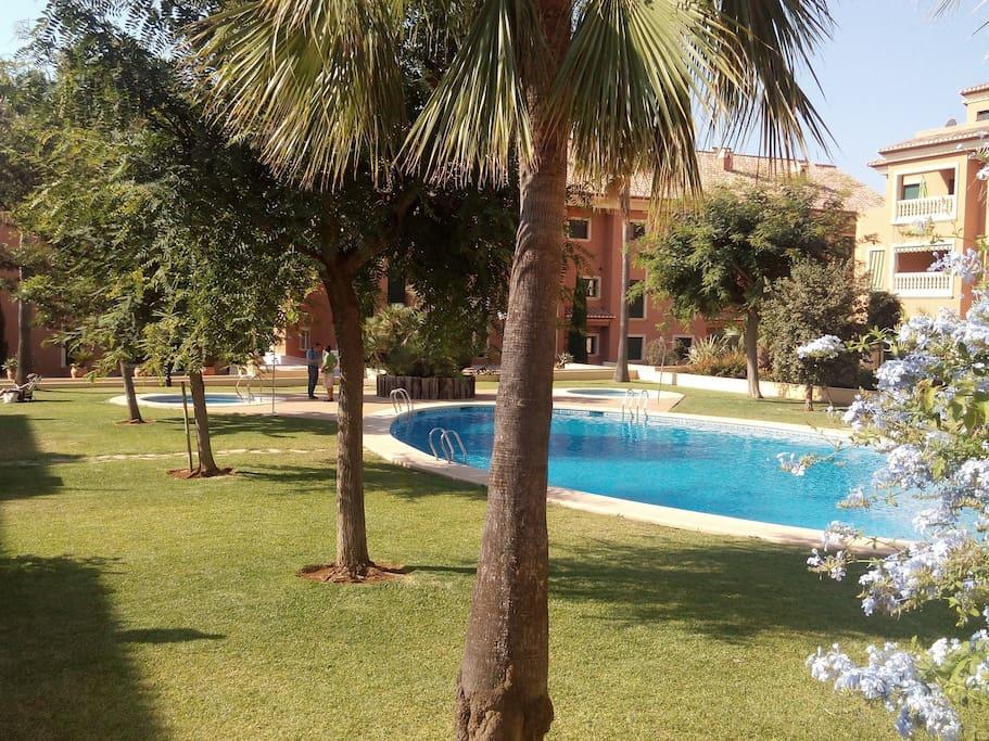 Casa Daniela Javea, exotic gardens
