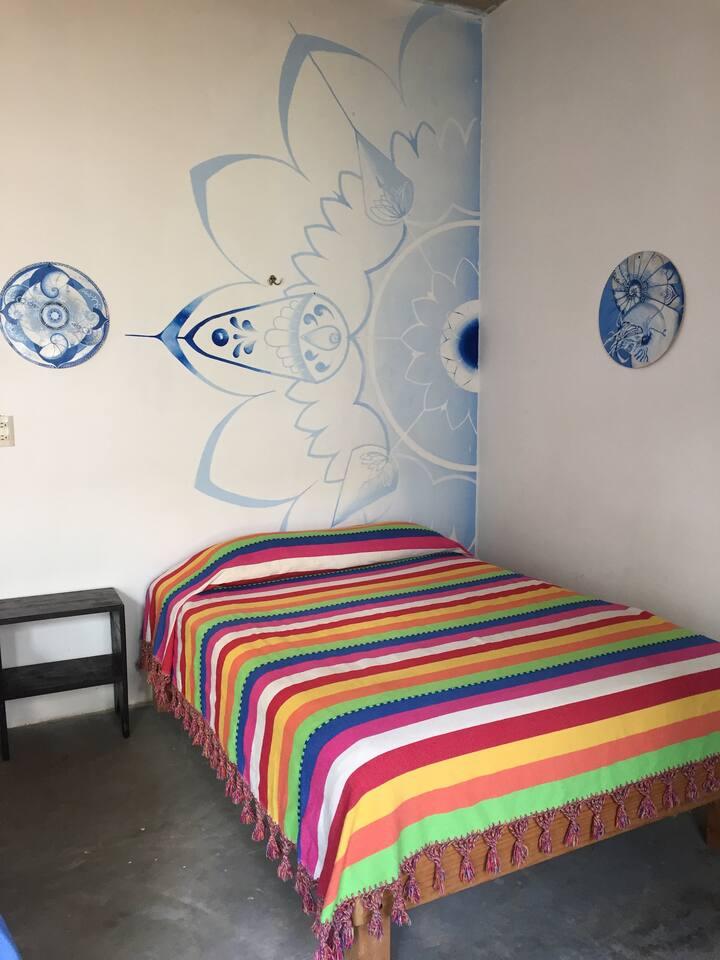 #9 Bonito cuarto AIRE ACONDICIONADO/baño Privado