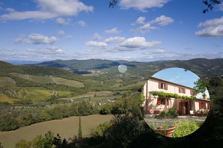 Quiet country house in the heart of the Chianti. - Greve in Chianti - Dom