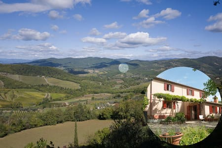Quiet country house in the heart of the Chianti. - Greve in Chianti