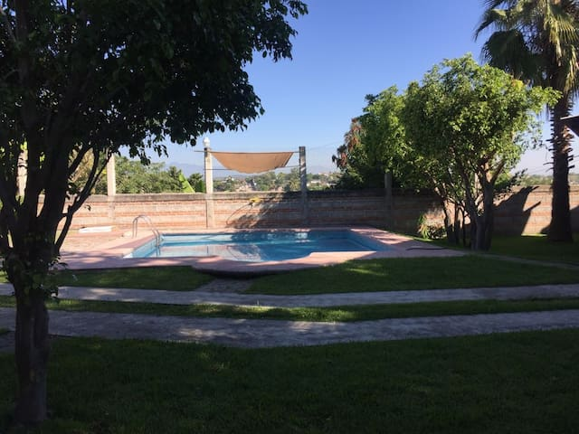 Linda casa en Puente de Ixtla, pet friendly