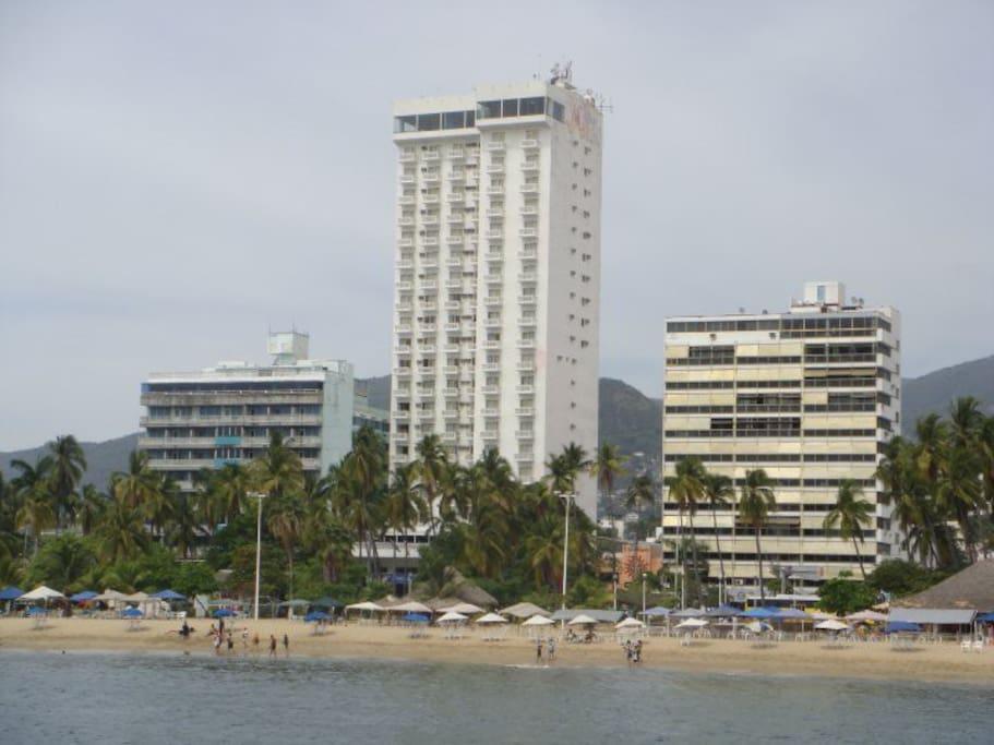 Vista Panorámica desde Balcón Frontal