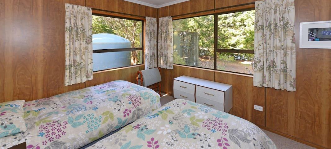 Bedroom 2 (Downstairs): Twin Bedroom