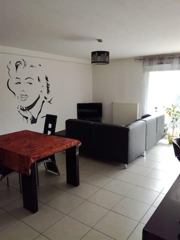 Chambre privée de 10m² dans T4 en belle résidence