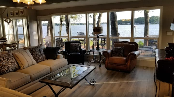 Stunning 4 BR Gem with over 200 feet of waterfront