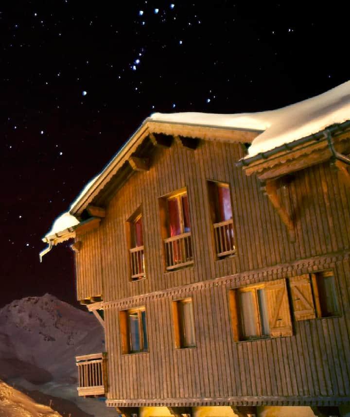 Appartement dans un Chalet de Montagne Val Thorens
