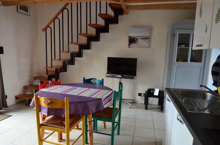 salle et escalier