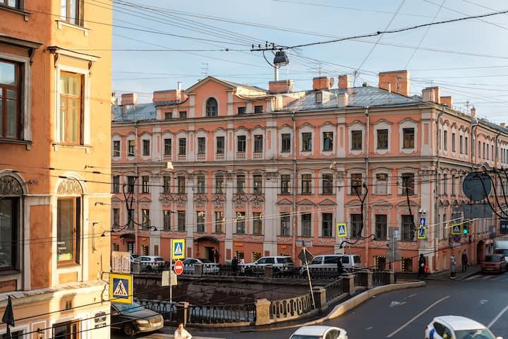 Уютная студия в самом центре города