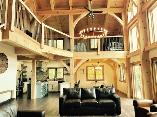 Killington Rendezvous House - Timber Frame Home
