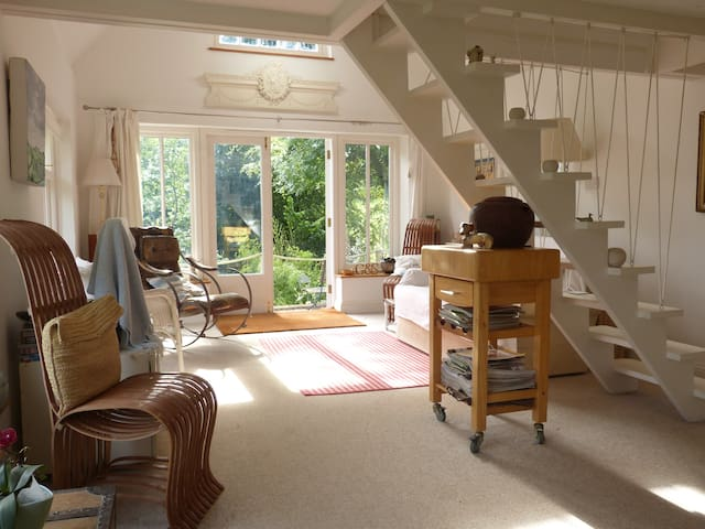 Cornwall - Roseland . Annexe to old cottage