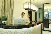 our 24hr lobby