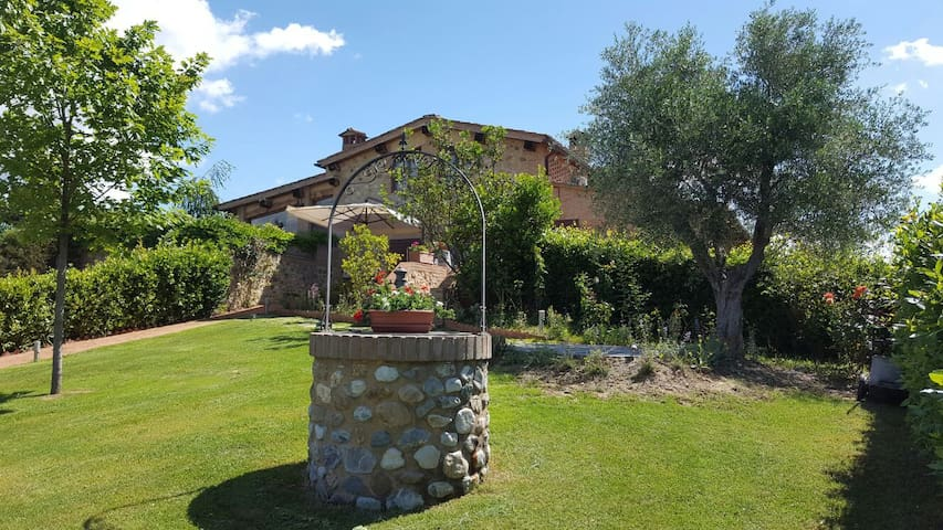 Wonderful house near to Siena