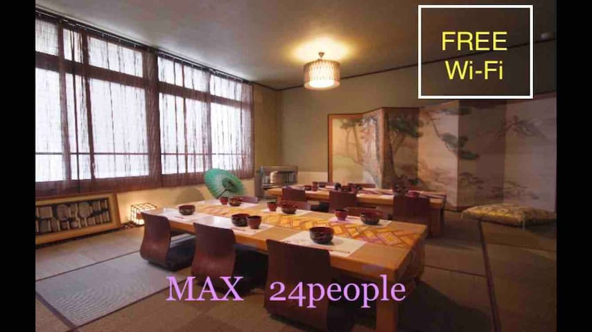Free pick up Airport-House,6LDK!Free parking 5car