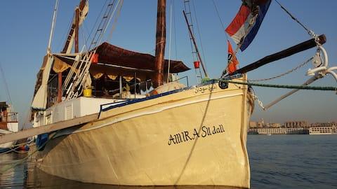 Bijzonder slapen in Luxor of varen op de Nijl.