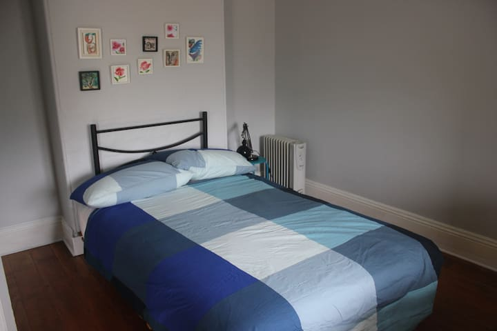 Bedroom 2: Simply furnished, double bed, electric blanket,electric heater