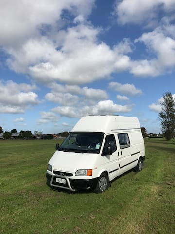 Comfortable campervan for 3