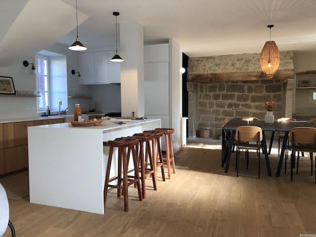 Gîte de charme à Ussel en Haute-Corrèze