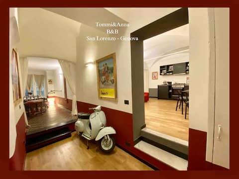 New Apartment in Genoa historical  center