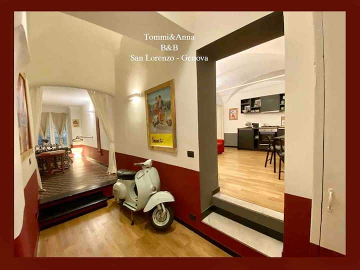 New Apartment in Genoa historical  center