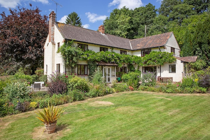 Tranquil Country Home with 8 Acres of Gardens