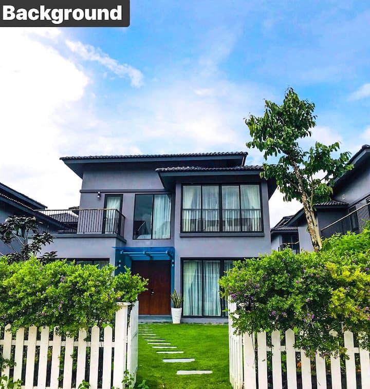 Villa in Phu Quoc Island-Roy Villas D'mer 3br (v5)