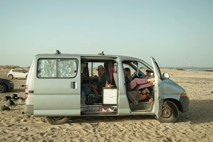 Moon Van In Fuerteventura - Surfer Toyota