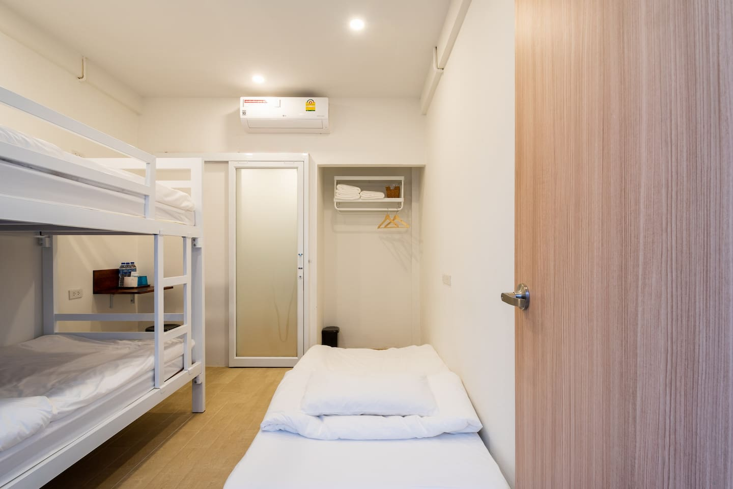 BED ROOM - Bunk bed with single bed - Private bathroom - Desk