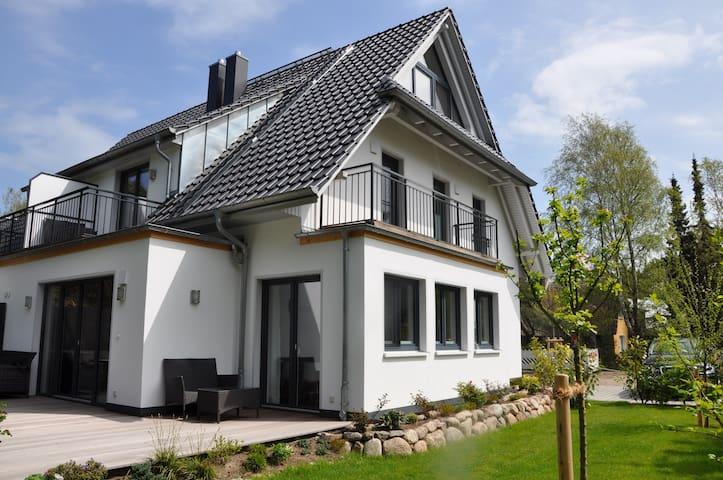 Ferienhaus Dünenwald 5***** DTV , 1. Reihe Strand - Dierhagen - Haus