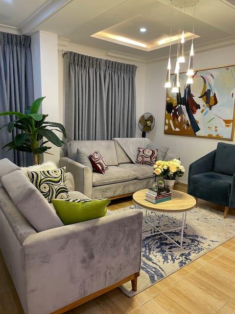 Tastefully furnished apartment in a secure estate.