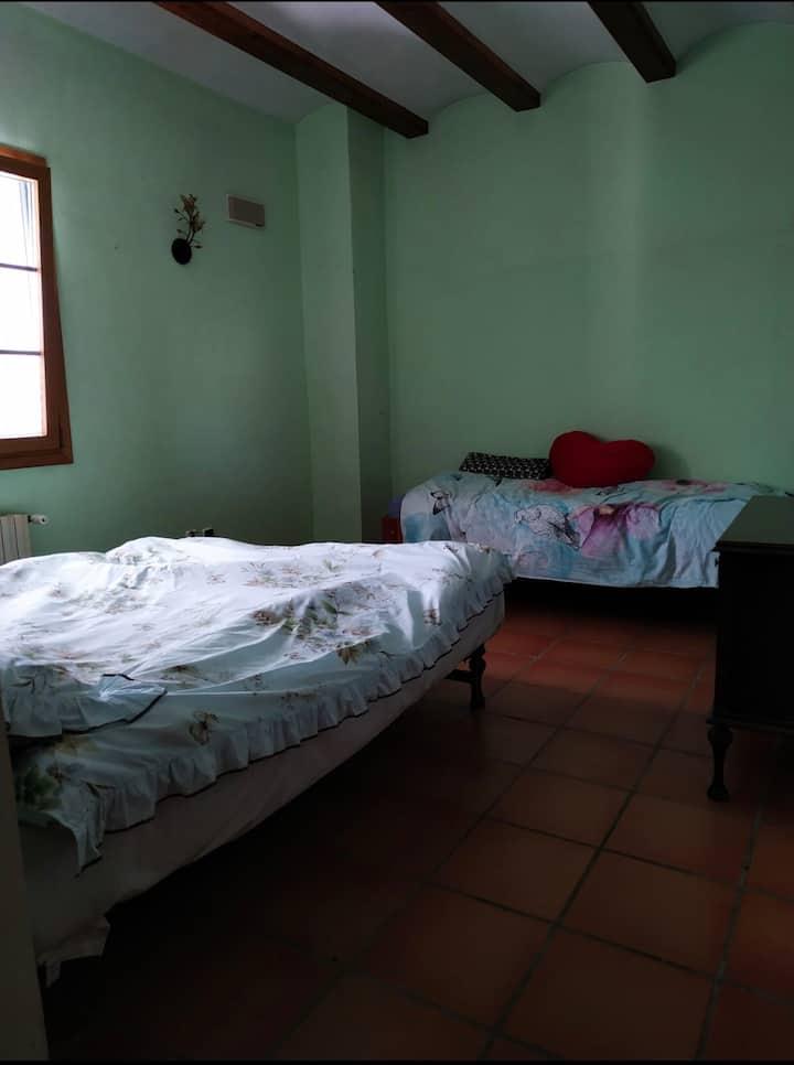 habitación privada en plena sierra de mariola