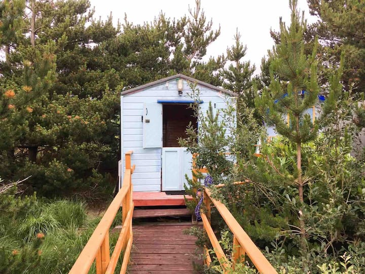 Glamping Experience in Cosy Donegal Wood Chalet