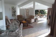 21LG Le Morne View Loft Open Living space.