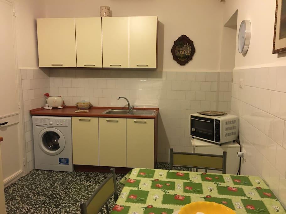 Lavatrice forno e tostapane