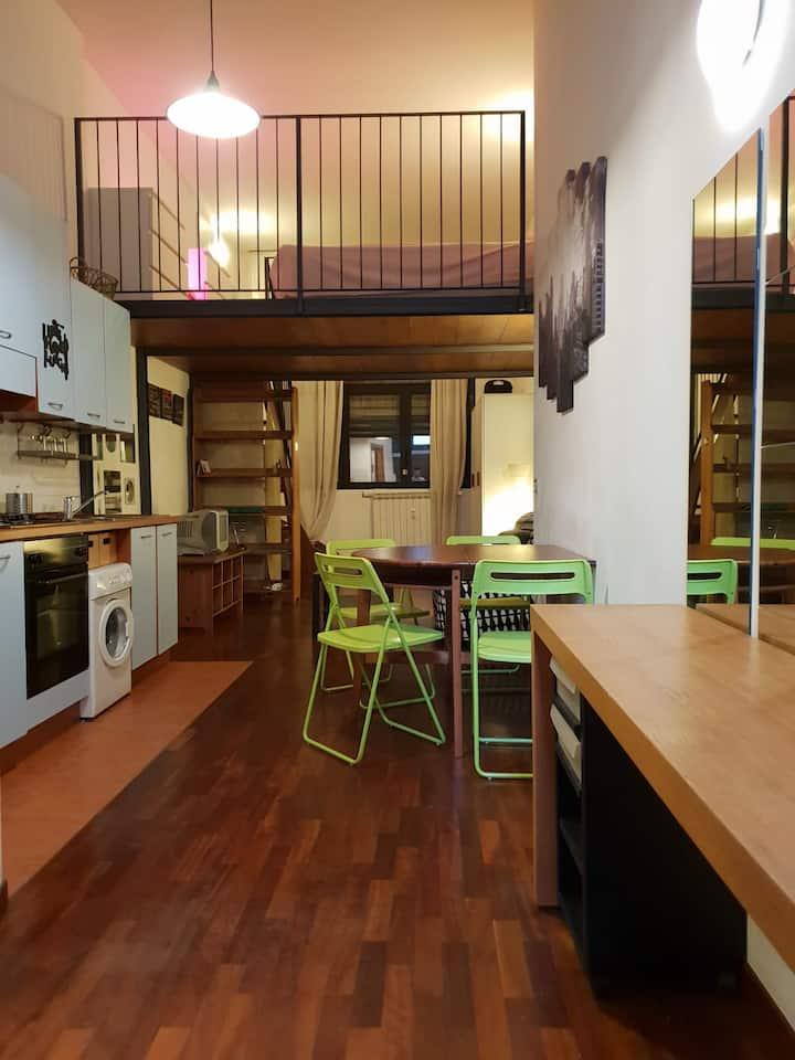 Piccolo loft vicino all'Università Bocconi
