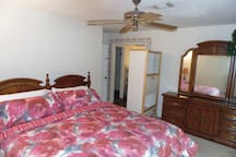 ANOTHER PICTURE OF THE MASTER BEDROOM  #1