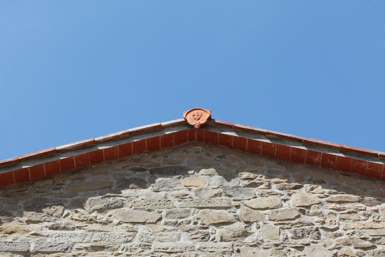 Italian Blue Sky over the house