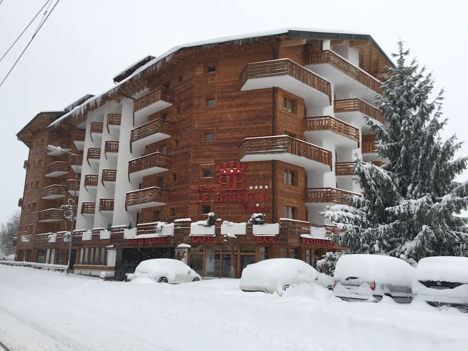 Photo of the hôtel taken january 15th 2017.
