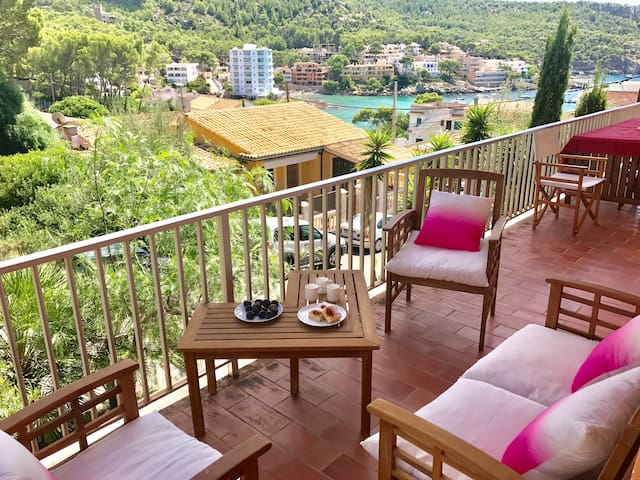 Sant Elm 50m from the sea - Terrace & Wifi