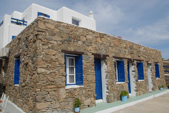 Adonis Rooms - Double Sea View 2 - Paralia Kalo Livadi - Appartement