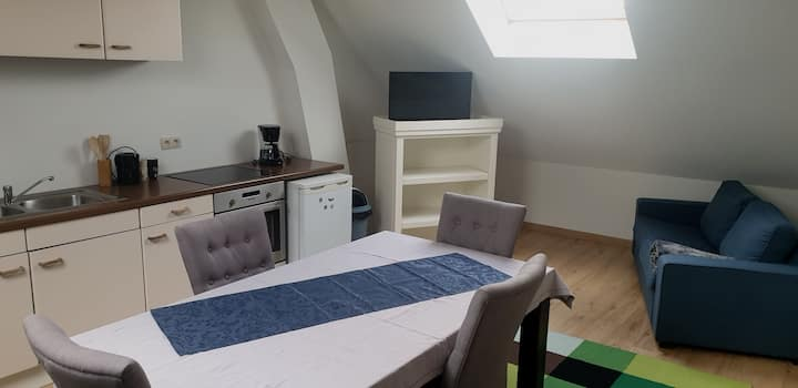 Apparemment spacieux 2 chambres