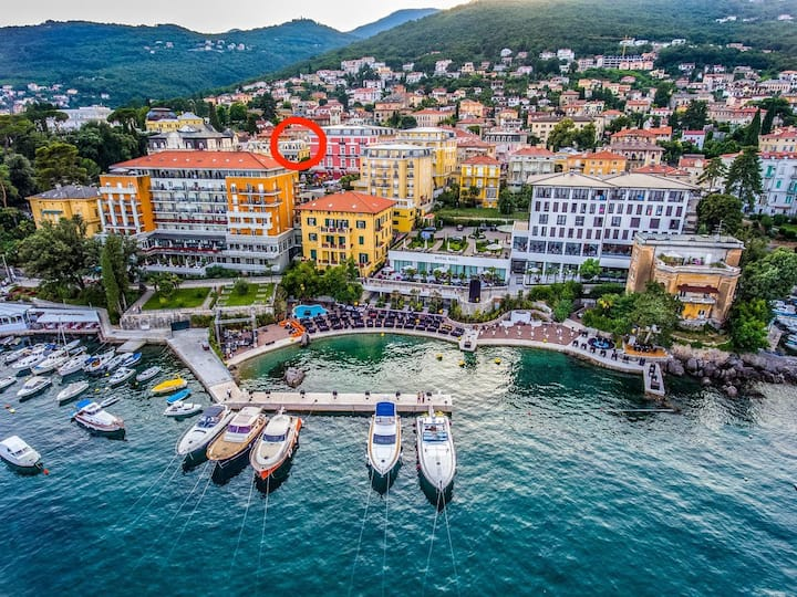 Charming Studio Apartment in the heart of Opatija