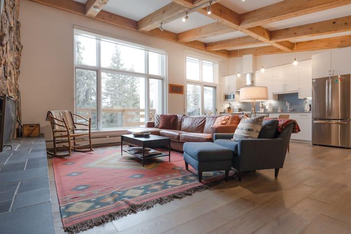 Mountainside Modern Penthouse Lodge - Lionshead