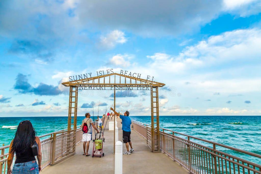 Only steps away welcome to the Ocean paradise of Sunny Isles Beach!