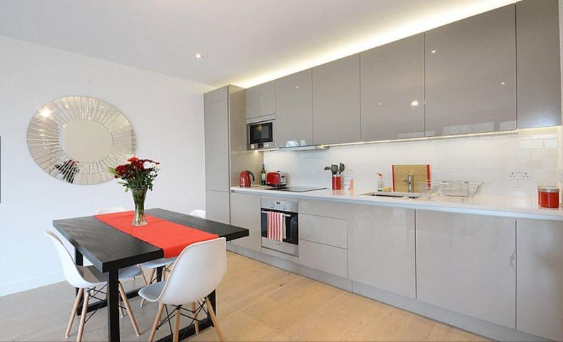 Central London apartment can host maximum 6 people