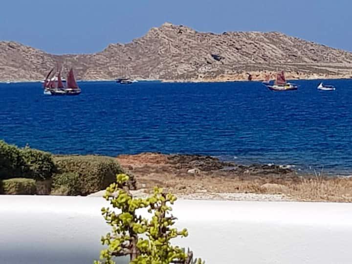 Sea blue apartment in Naousa Paros