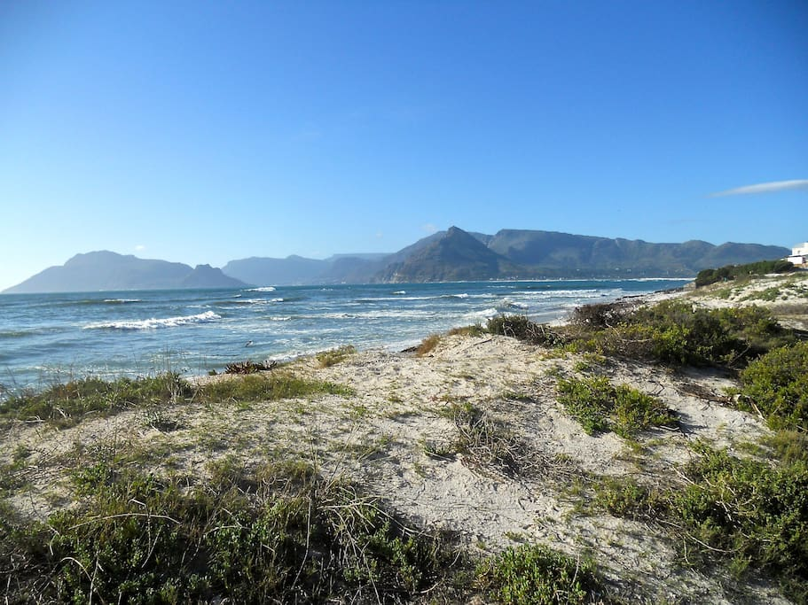 The view to Hout Bay