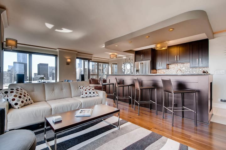 Welcome to  luxe living on the 51st floor